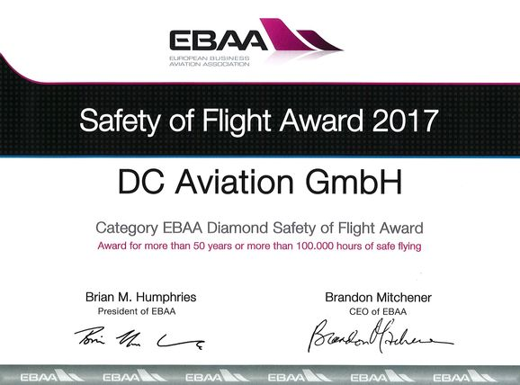 Safety of Flight Award